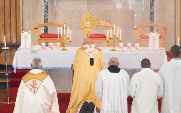 Assumption Celebration Benedication Prayers