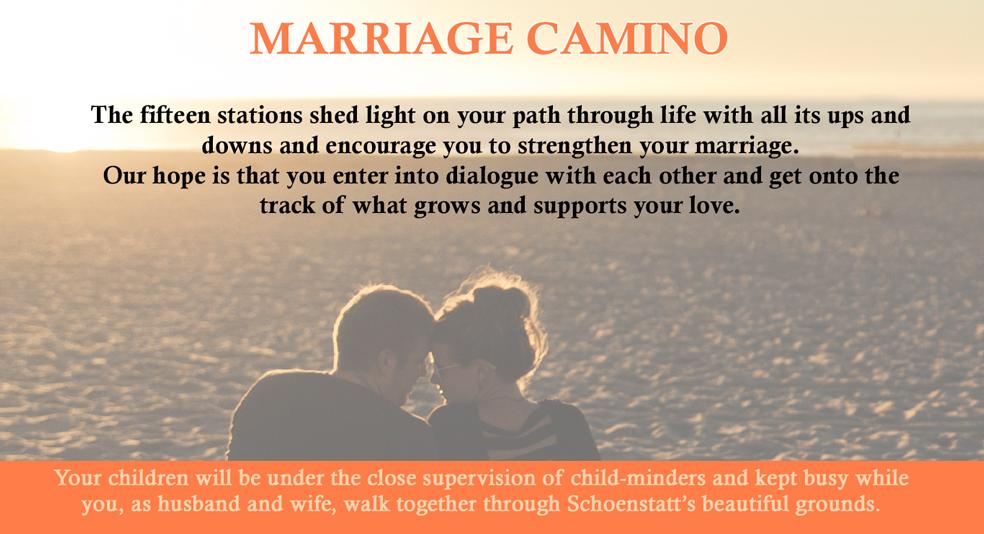 Marriage Camino 2019