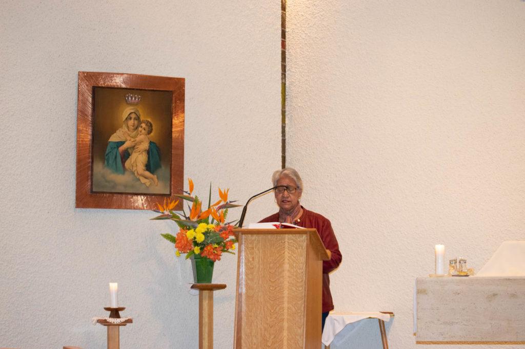 October Weekend Mass